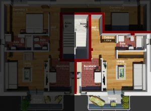 Apartament Tip Studio Lectorului Residence