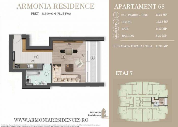 Plan 2d Armonia-Residence-AP-68
