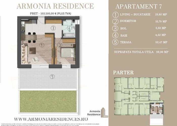 Armonia Residence Plan 2D AP 7