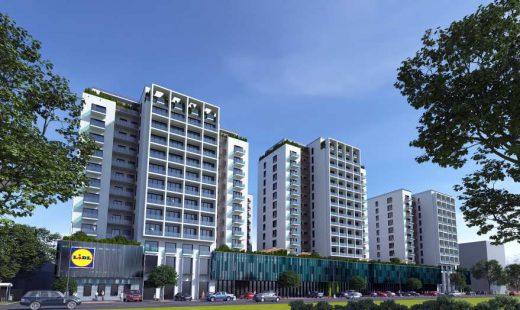 Randare 3d Arena Tower Residence