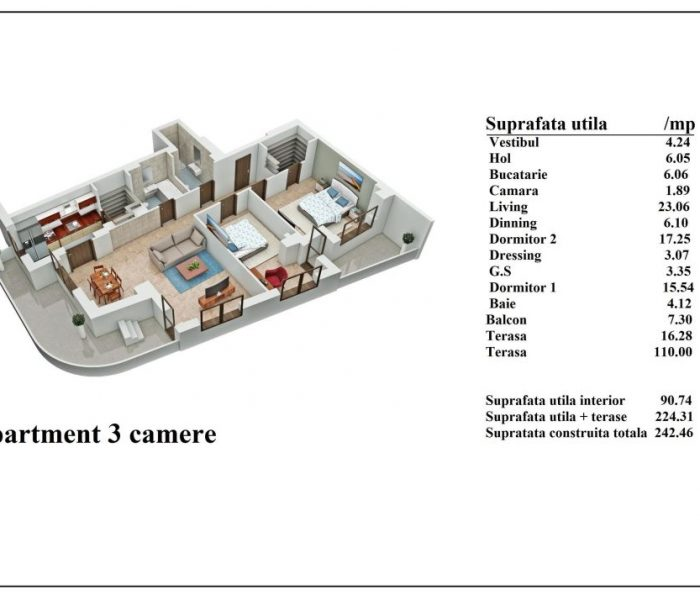 Apartament-3-camere-Et.5-Matei-Voievod-Residence