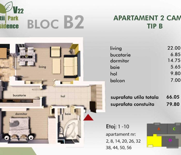 virtutii-residence-apartament-2-camere-tip-b-bloc-b2